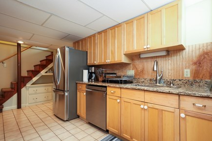 Falmouth Cape Cod vacation rental - Downstairs galley kitchen