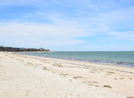 Brewster Cape Cod vacation rental - Beautiful private bayside beach just 2/10 mile away!