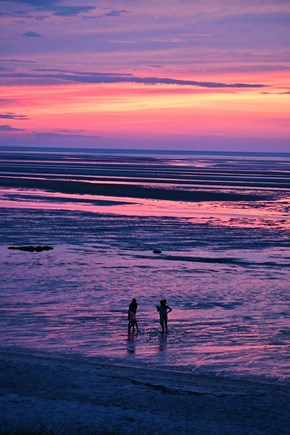 Brewster Cape Cod vacation rental - Stunning sunsets that bring different colors almost every night.