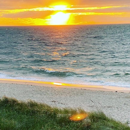 Brewster Cape Cod vacation rental - What a way to end the day