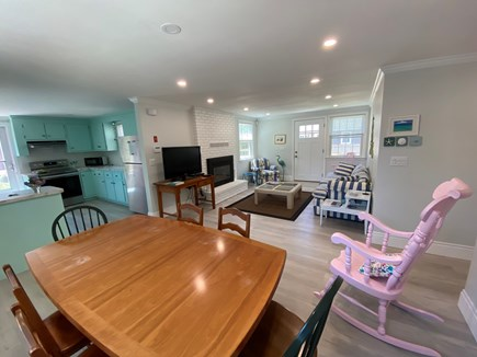 Brewster Cape Cod vacation rental - Open concept living, dining and kitchen