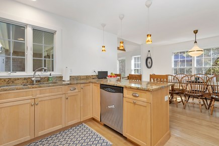 Truro Cape Cod vacation rental - Kitchen Looking at Dining