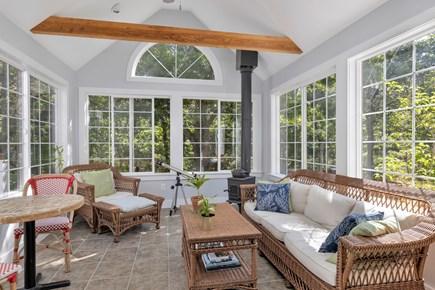 Truro Cape Cod vacation rental - Three Season Porch with comfortable seating