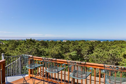 Truro Cape Cod vacation rental - Roof Deck with Seating to take in the Views and Sunsets