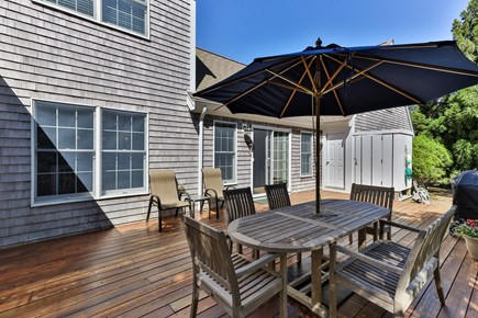 Truro Cape Cod vacation rental - Large, Private Deck with Enclosed Outdoor Shower