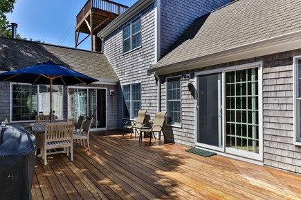 Truro Cape Cod vacation rental - Another View of Back Deck