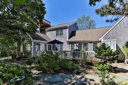 Truro Cape Cod vacation rental - Back of Home
