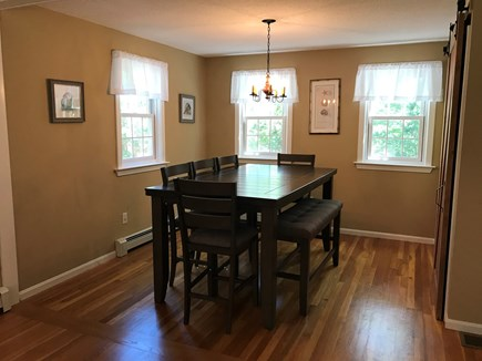 Brewster Cape Cod vacation rental - Dining Room (open to kitchen)