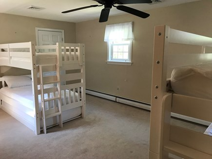 Brewster Cape Cod vacation rental - Bunk Room (two twin bunk bed, each with a trundle--sleeps 6)