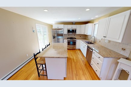 Brewster Cape Cod vacation rental - Kitchen opens to dining room