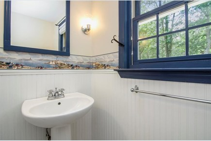 Brewster Cape Cod vacation rental - Half bath on first floor.