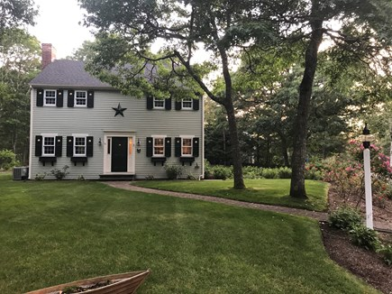 Brewster Cape Cod vacation rental - Beautifully landscaped front yard.