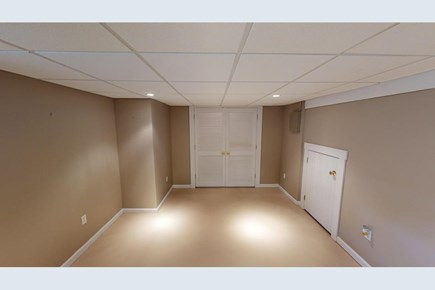 Brewster Cape Cod vacation rental - Finished basement room--office space. Furnished photos to come!