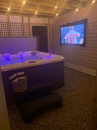 Centerville Centerville vacation rental - Outdoor, covered hot tub