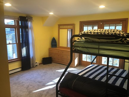 Eastham Cape Cod vacation rental - Bedroom 2: Bunk Bed: Bottom Full/Twin top