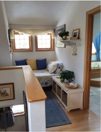 Mashpee Cape Cod vacation rental - Single bed in small alcove above private downstairs entryway