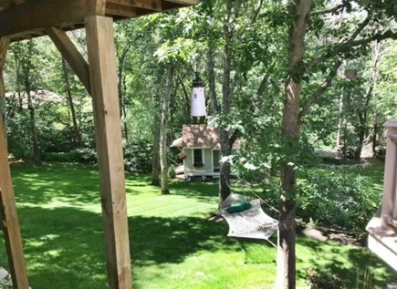 Mashpee Cape Cod vacation rental - Nicely landscaped, private back yard