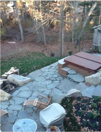 Mashpee Cape Cod vacation rental - Another view of the lower patio