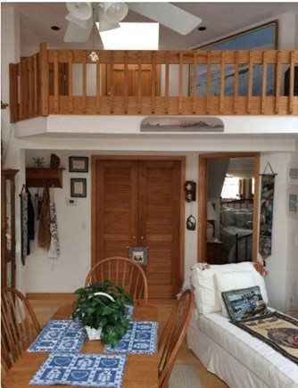 Mashpee Cape Cod vacation rental - View from the slider to the deck