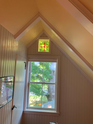 Centerville, Craigville Beach Cape Cod vacation rental - Stain glass accents throughout