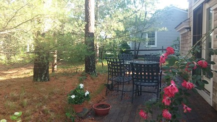Harwich Cape Cod vacation rental - Private deck for summer relaxing and outdoor dining. (seats 5-7)