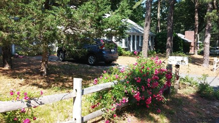 Harwich Cape Cod vacation rental - Private corner location on quiet street, yard faces golf course