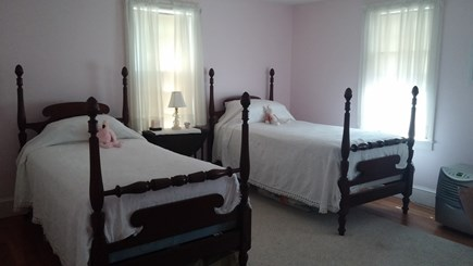 Harwich Cape Cod vacation rental - Spacious guest bedroom with twin beds.