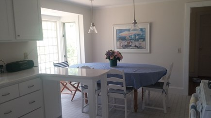 Harwich Cape Cod vacation rental - Updated contemporary country kitchen with dishwasher.