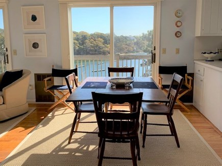 Chatham Cape Cod vacation rental - Water view while dining
