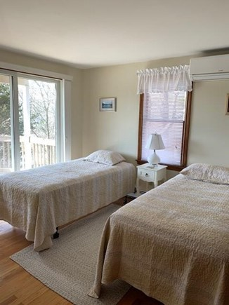 Chatham Cape Cod vacation rental - 2nd bedroom - two twin beds walk out to first floor deck