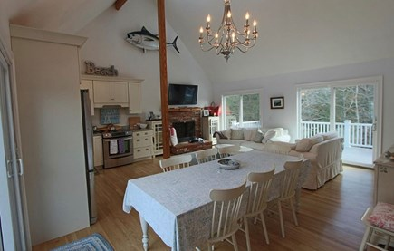 Truro Cape Cod vacation rental - Living Area