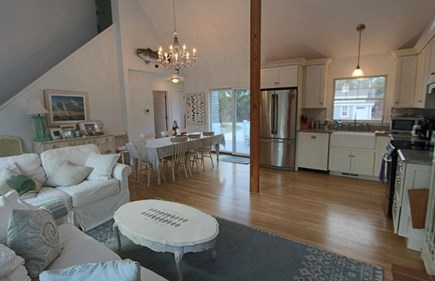 Truro Cape Cod vacation rental - Main living/dining/kitchen area