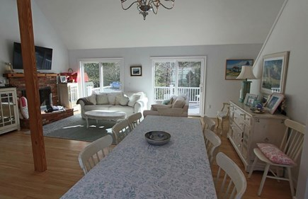 Truro Cape Cod vacation rental - Main Area