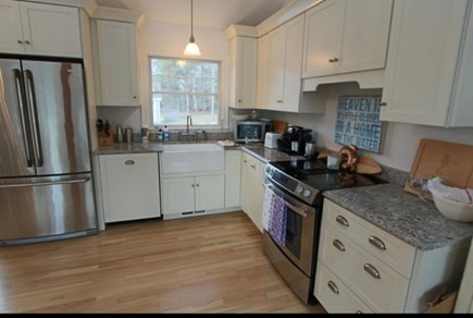 Truro Cape Cod vacation rental - Kitchen Area
