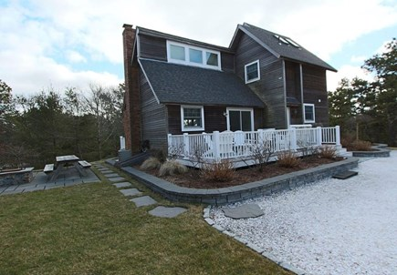 Truro Cape Cod vacation rental - Front view