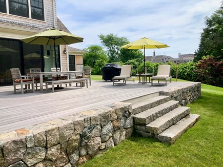 Orleans Cape Cod vacation rental - Back deck