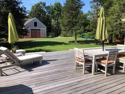 Orleans Cape Cod vacation rental - Backyard