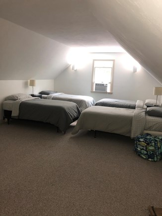 Cotuit Cotuit vacation rental - Above garage - 4 twin beds & kids game/TV area