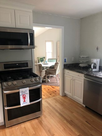 Cotuit Cotuit vacation rental - Kitchen - all new stainless appliances as of July
