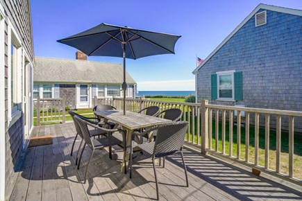 Dennis Port Cape Cod vacation rental - Views from the deck.  Charcoal grill & beach chairs provided