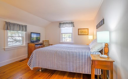 Dennis Port Cape Cod vacation rental - Master bedroom with full bath.  Linens included