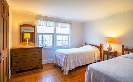 Dennis Port Cape Cod vacation rental - 3rd bedroom, twin beds