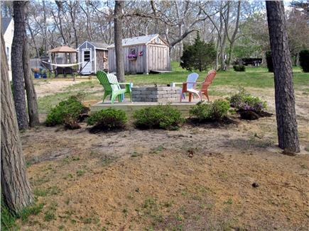 North Eastham Cape Cod vacation rental - New Fire Pit to gather around  at night after a day at the beach