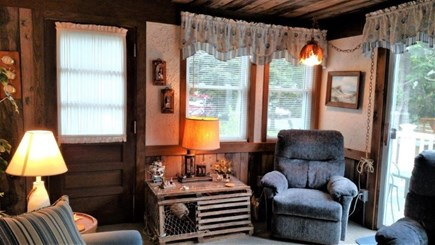 North Eastham Cape Cod vacation rental - Another view of living room with two recliners