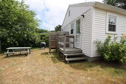 Dennis Port Cape Cod vacation rental - Nice outdoor area with enclosed outdoor shower