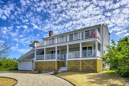 Sandwich, Sagamore Beach Cape Cod vacation rental - Front view of house