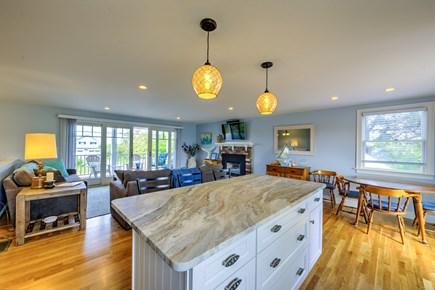 Sandwich, Sagamore Beach Cape Cod vacation rental - Kitchen looking towards Livingroom