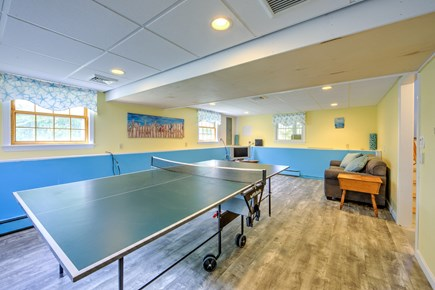 Sandwich, Sagamore Beach Cape Cod vacation rental - game room in lower level