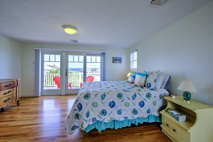 Sandwich, Sagamore Beach Cape Cod vacation rental - Master Bedroom on upper level with Queen