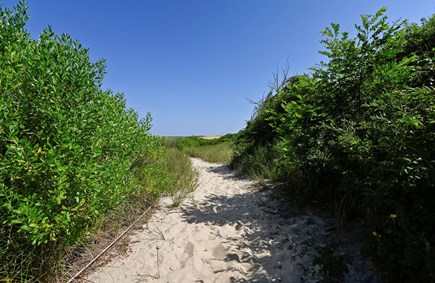 Orleans Cape Cod vacation rental - Private Beach Path